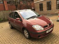 2001 RENAULT SCENIC 1.6 EXPRESSION+ 16V MPV 5 SEAT FAMILY CAR MOT GREAT DRIVE NOT ZAFIRA MEGANE CLIO