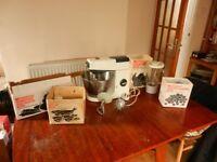 Vintage Kenwood Mixer with Accessories