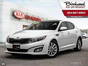 2014 Kia Optima EX *Leather Heated Seats\Sunroof\Bluetooth*