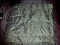 Grey bed runner