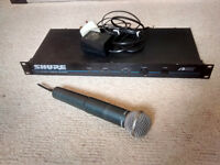 Shure Beta 58A Radio Mic System - needs attention