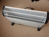 3x electric heaters 2000w