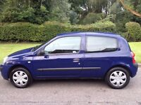 RENAULT CLIO 1.2 2004 MOT 6 MONTHS CLEAN RELIABLE CAR IDEAL FOR NEW DRIVER - CHEAP TO TAX & INSURE