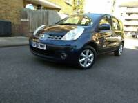 2006 NISSAN NOTE 1.4 SE PETROL MANUAL 2 REGISTERED KEEPERS MOT EXPIRY: 18/04/2019