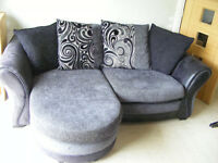 2 SEATER & 3 SEATER CHAISE CUSHIONS FOOTSTOOL 2 YEARS OLD DFS SOFA SUITE