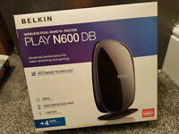 Belkin N600 Dualband Wireless Router - Both BT or Virgin Cable