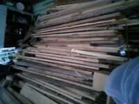 Dry wood for stove