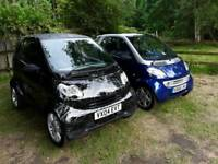 Smart Fortwo 0.6 Turbo, high spec, including A/C - Blue and Silver