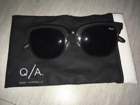 Quay Black Flint Sunglasses