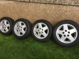 Alloy wheels for toyota MR2