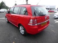 Vauxhall Zafira EXCLUSIV (red) 2013-03-21