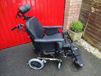 Wheelchair - Fully Adjustable, Tilt in Space, Comfort Wheelchair