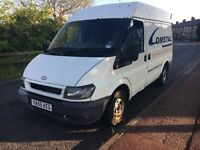 2006 ford transit SWB semi high top