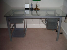 Desk or could be used as table. Modern stylish look