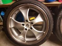 "18"" Antera alloy wheels"