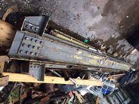Metal rsj beams x4 22ft long 23 24 beam