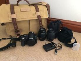 NIKON D3100 DOUBLE ZOOM KIT