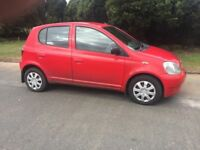 2001 TOYOTA YARIS AUTOMATIC # DRIVRS ABSOLUTELY PERFECT # TOYOTA RELIABILITY # SUPERB LITTLE CAR