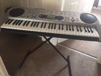 Casio Electric LK-43 Keyboard