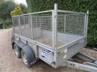 GD85 Ifor Williams twin axle trailer