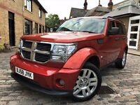 Dodge Nitro 2.8 CRD SXT 5dr p/x welcome **FULL S/H**6 MONTHS WARRANTY* 2009 (58 reg), SUV