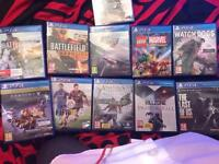 Swap 2/3 games for battlefield 1 or rainbow six siege the order1886 never been played