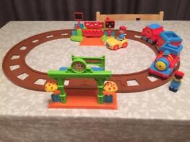 Happyland train set with extension track