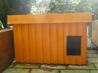 Hand made dog kennel