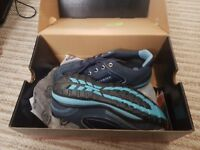 Dickies lady safety shoes size 3/36 blue