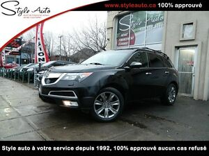 2010 Acura MDX ELITE PKG NAV TV/DVD