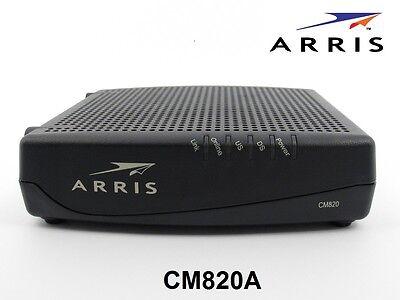 Arris Cm820a Docsis 3 0 Cable Modem Comcast Xfinity Time Warner Cable Suddenlink