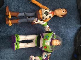 Woody and buz