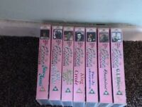 all sorts of vhs tapes