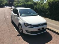 Volkswagen polo 1.4 petrol in white