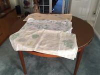 Three Round Tablecloths (max 4ft diameter) – Collect Only