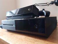 Xbox one 500gb. Kinect + Halo