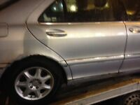 Mercedes w220 s320 parts ecu central locking electric seats wheels spare exhaust gearbox automatic