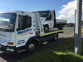 Brake down Recovery Liverpool