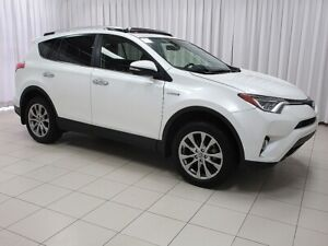 2016 Toyota RAV4 LIMITED HYBRID SUV - ONE OWNER AND WELL TAKEN C