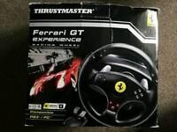 Ferrari gt experience racing wheel PC & PS3 compatible