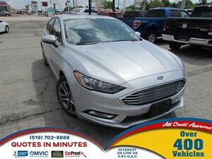 2017 Ford Fusion SE | LEATHER | SUNROOF | BACKUP CAM