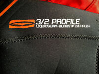 NEW Gul Wetsuit / MS Shorty / Profile 3:2