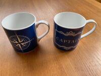 Nauticalia of London Fine Bone China Nautical Mugs