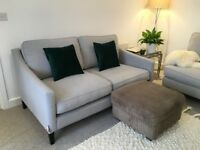 Footstool with storage / seating / ottoman