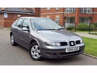 2005 Seat Leon 1.6 16v SX 5dr **F/S/H+CAMBELT DONE+IMMACULATE**