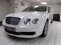 Bentley Flying Spur In White For Sale