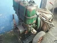 Lister diesel welder 200 amp handle start