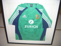 Framed Lions Tour Rugby Shirt
