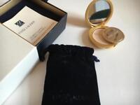 Brand new boxed Estée Lauder gold compact LIMITED EDITION