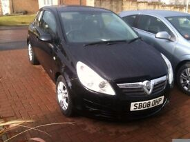 Vauxhall Corsa 2008 beutifull car very clean